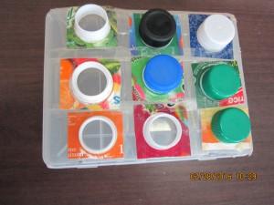 Bouchons de plastique